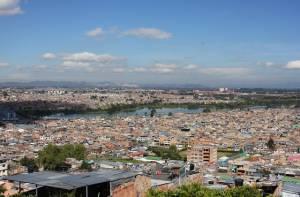 Panorámica barrio Ciudad Hunza de Suba – Foto: Alcaldía Local de Suba