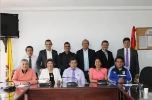 Integrantes de la nueva JAL de San Cristóbal - Foto: Alcaldía Local de San Cristóbal