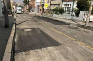 Vía recuperada en Chapinero - Foto: UMV