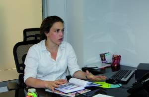 Secretaria de la Mujer, Cristina Vélez - Foto: Prensa Secretaría Mujer