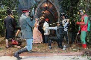 Los jóvenes en riesgo social que hacen montajes para teatro