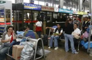 Viajeros - Foto: Terminal de Transporte