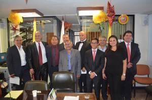 Integrantes de la nueva Junta Administradora Local de Tunjuelito - Foto: Alcaldía Local de Tunjuelito