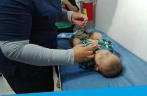 Vacunación infantil - Foto: Secretaría de Salud