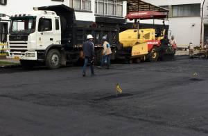 Reparación de vías en Chapinero - Foto: Prensa UMV