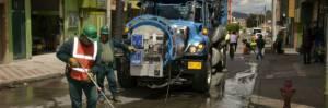 Intervención de la red de acueducto - Foto: Empresa de Acueducto y Alcantarillado de Bogotá