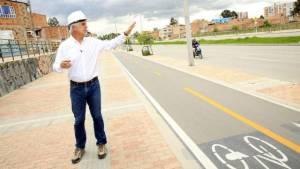Alcalde Peñalosa inspecciona obras - Foto: Alcaldía Mayor de Bogotá