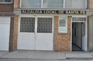 Fachada de la Alcaldía Local de Santa Fe - Foto: bogota.gov.co