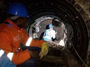 Emisario de aguas Abraham Lincoln - Foto: Empresa de Acueducto y Alcantarillado de Bogotá