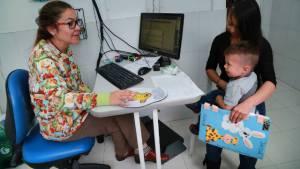 Atención infancia - Foto: Secretaría de Salud