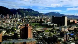 Vista panóramica de Bogota