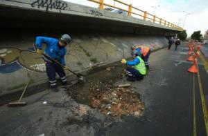 Brigada Tapa Huecos - Foto: Alcaldía Mayor de Bogotá