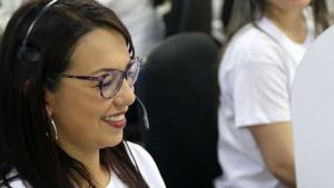 Asesor call center - Foto: Secretaría de Salud