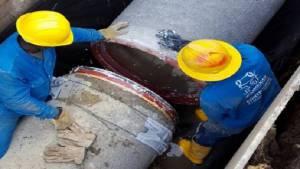 Cambio de tubería - Foto: Acueducto de Bogotá