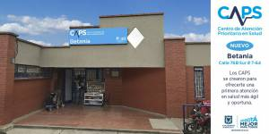 CAPS Betania - Foto: Empresa de Renovación y Desarrollo Urbano de Bogotá