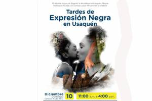 Tardes de expresión negra en Usaquén el próximo 10 de diciembre