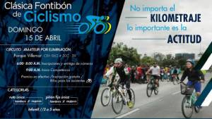 Clásica de Ciclismo en Fontibón