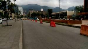 CicloRuta Calle 85 - Foto: Alcaldía Local de Chapinero