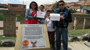 Comunidad se apropia del Puente del Indio - Foto: IDPAC
