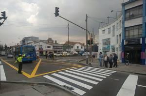 Diagonal 61 con carrera 17 - Foto: Prensa Secretaría de Movilidad