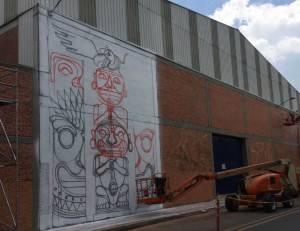 Distrito graffiti: De nuevo reunió artistas nacionales, locales e internacionales - Foto: Alcaldía Mayor de Bogotá