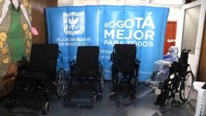 Entrega de ayudas técnicas - Foto: Secretaría de Gobierno