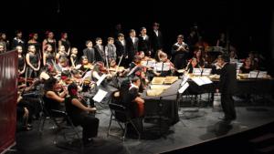 Orquesta conformada por niños y jóvenes del Centro Orquestal - Foto: Fundación Nacional Batuta