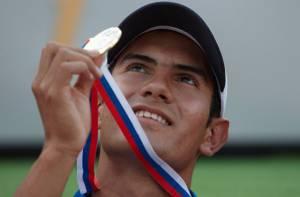Éider Arévalo, atleta bogotano - Foto: Prensa IDRD
