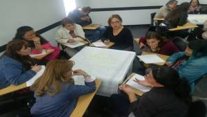 Ejercicios de mapeo - Foto: Secretaría de Integración Social