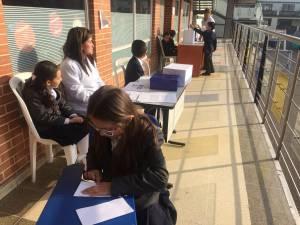 Elecciones de Puente Aranda - Foto: Secretaría de Educación