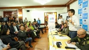 Encuentro Ciudadano en Chapinero - Foto: prensa Secretaría de Gobierno