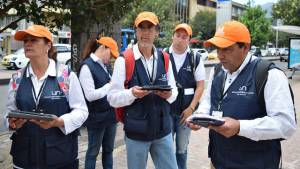 Encuestadores CID - Foto: Agencia de Noticias UN