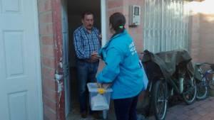 Entrega de medicamentos a domicilio - Foto: Secretaría de Salud