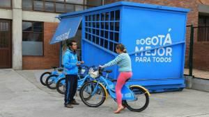 En el Parque Metropolitano San Cristóbal puedes aprender a manejar bicicleta - Foto: IDRD