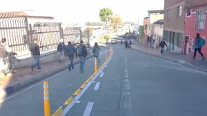 Extensión Portal 20 de Julio - Foto: Secretaría Distrital de Movilidad