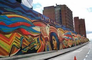 Grafitis - Portal Bogotá - Foto:www.elespectador.com