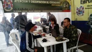 Jornada de amnistía para ciudadanos que no tienen libreta militar - Foto: Secretaría General Alcaldía Mayor de Bogotá