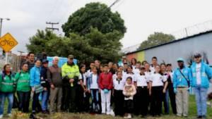 Jornada de recuperación río Ficha - Foto: Alcaldía Local de Antonio Nariño