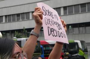 Manifestación aborto - Foto: Prensa Alcaldía Mayor / Lesly Segura