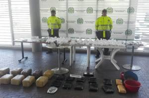 Capturas e incautaciones de la Policía - Foto: Oficina de prensa Policía metropolitana de Bogotá
