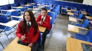 Mobiliario escolar - Foto: Comunicaciones Secretaría de Educación
