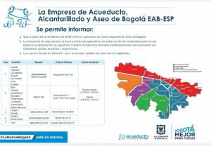 Nuevo esquema de aseo de Bogotá - Foto: Empresa de Acueducto y Alcantarillado