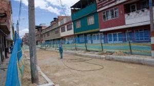 Obras de acueducto y alcantarillado - Foto: Prensa Acueducto de Bogotá