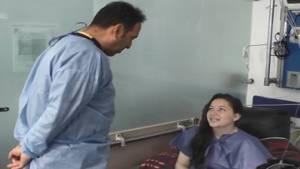 Sara Rivera, paciente número 100 con cáncer gástrico en la USS Tunal - Foto: Secretaría de Salud