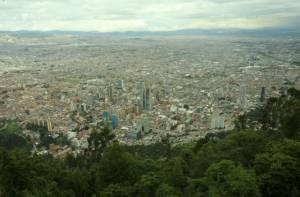 Cerros Orientales de Bogotá.