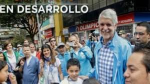 Alcalde Peñalosa con la comunidad