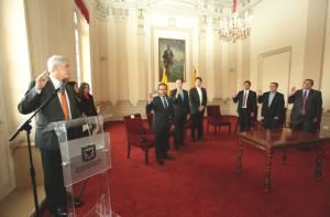 Se posesionan otros cinco alcaldes locales de Bogotá