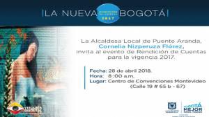 Rendición de cuentas en Puente Aranda- Foto: Alcaldía Local de Puente Aranda