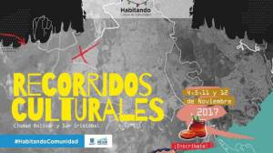 Particípe de los recorridos culturales de San Cristóbal y Ciudad Bolívar