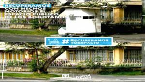Recuperación de espacio público - Foto: Localidad de Engativá